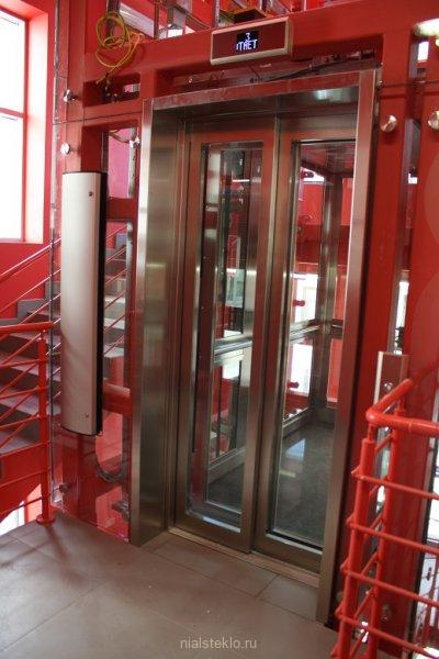 Обрамление портала лифта