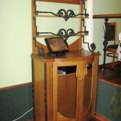 Стекло гнутое для мебели